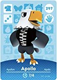 No.297 Apollo Animal Crossing Villager Cards Series 3. Third Party NFC Card. Water Resistant