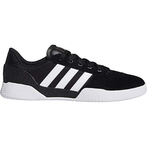 adidas Skateboarding City Cup, Core Black-Footwear White-Footwear White, 6