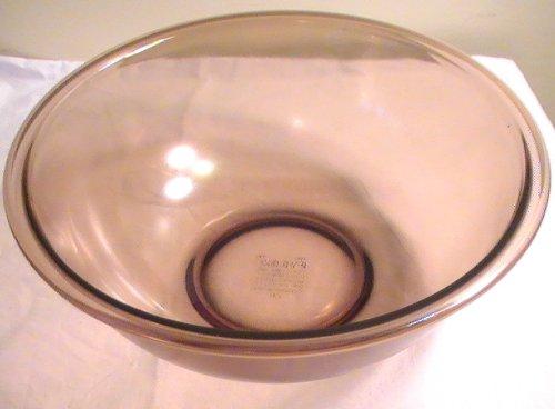 Corning Pyrex Amber 4 Quart Mixing Bowl #328