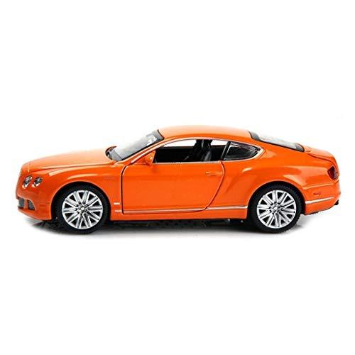 Modelo de control remoto, Modelo de coche 1:24 Simulación Aleación de deportes Coche Modelo de Adornos de juguete Colección 14x6x4cm Modelo Vehículos for adultos Niños Niños de madera y Mustang Snowdl