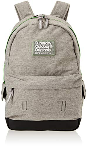 Superdry - Fresh International Montana, Mochilas Hombre, Gris (Light Grey Marl), 30x45x15 cm (W x H L)