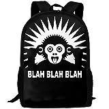 TTmom Mochila/Mochilas Tipo Casual,Bolsa de Viaje, Backpack Adult Blah Blah Blah...