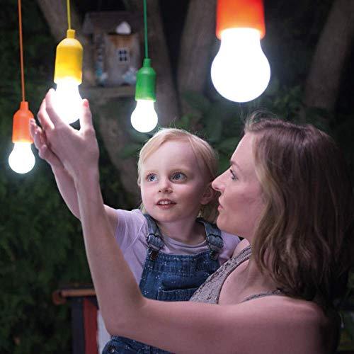 Handy Lux Colors kabellose LED Leuchte in 4 Gehäuse Farben | 8 Stück Lampen | Safe touch Oberfläche | Bruchfest | Garten, Camping, Party, Kleiderschrank | Das Original aus dem TV von Mediashop - 8