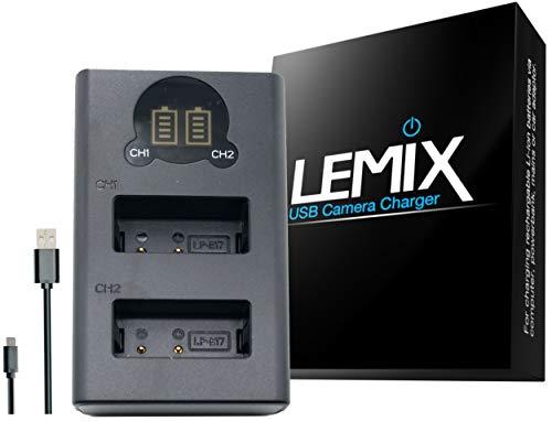 enumerados a continuaci/ón ENEL12 Lemix Cargador USB Ultra Slim para bater/ías Nikon EN-EL12 para Modelos Nikon Coolpix