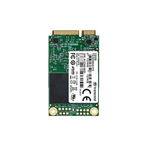 Transcend 32GB SATA III 6Gb/s MSA370 mSATA SSD 370 SSD TS32GMSA370