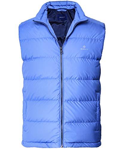 GANT Herren O1. The Panel Down Vest Outdoor Weste, Blau (Poseidon Blue 448), X-Large (Herstellergröße: XL)