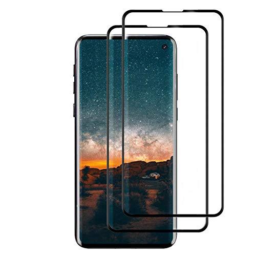 [2 Pack]Panzerglas für Samsung S10e, 3D Double Defense Schutzfolie Panzerglasfolie für Samsung Galaxy S10e, Blasenfrei, 9H Härte, Kratzfest,Displayschutzfolie für S10e