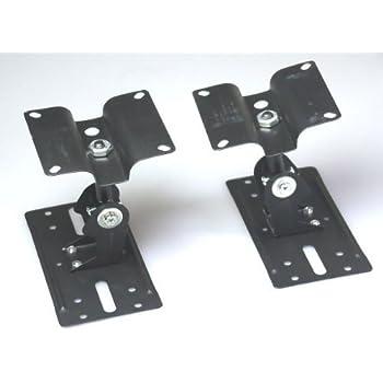 スピーカー用 汎用天吊り取り付け金具2個セット スピーカーブラケット スタンド