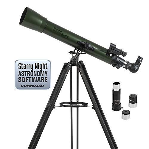 Celestron ExploraScope AZ - Telescopio astronómico (70 mm de Apertura