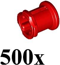 LEGO Technic NEW 500 pcs RED BUSH Bushing Cross Axle Connector Lot Mindstorms NXT EV3 car robot robotics building small Part Piece 3713