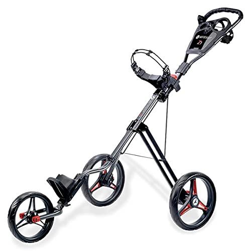 Motocaddy 2020 Z1 Golf-Trolley mit Fußbremse, leicht, verstellbar, rot, Einheitsgröße