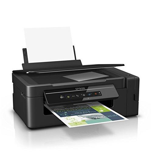 Epson EcoTank ET-2600 nachfüllbares 3-in-1 Tintenstrahl Multifunktionsgerät (Kopierer, Scanner, Drucker, DIN A4, WiFi, USB 2.0) großer Tintentank, hohe Reichweite, niedrige Seitenkosten