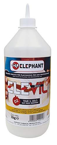 1 KG | Colla vinilica per Legno D2 ELEVIL3001- Super Collante professionale