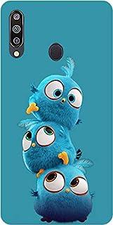Amagav Soft Silicone Multicolour Back Cover for Samsung Galaxy M30