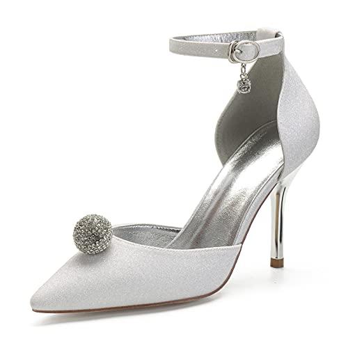 Zapatos de Novia de Las Mujeres Zapatos de Boda de Tacón de...