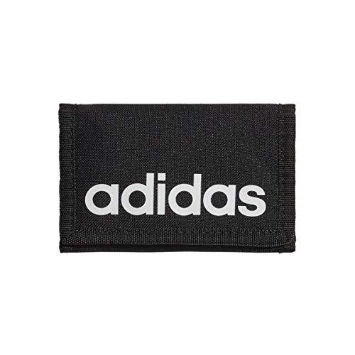adidas Linear Wallet Cartera, Adultos Unisex, Negro/Blanco (Multicolor), Talla Única