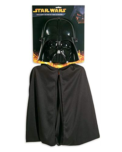Horror-Shop masque Darth Vader avec cape