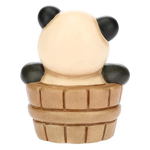 THUN - Panda Aquarius - Linea Oroscopo - Formato Piccolo - Ceramica - 6,5x6x7,8 h cm