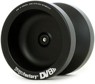 フルメタルヨーヨー DV888 ブラック DVDセット 引いて戻るメタル 初心者にも