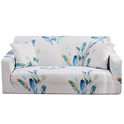 JXJ Fundas de sofá Fundas de sillón reclinable Funda de sillón Fundas de sofá de Terciopelo triturado Funda de sofá Klippan Funda de sillón reclinable Fundas de Asiento de sofá 90-140, Blanco