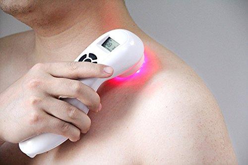 Hand Held Pain Relief Portable Laser Therapie Gerät - Low Intensity Akupunktur Schmerzlinderung für Schmerzen rheumatoider Arthritis, Sportverletzungen Verstauchung, wund Geschwür Akupunktur