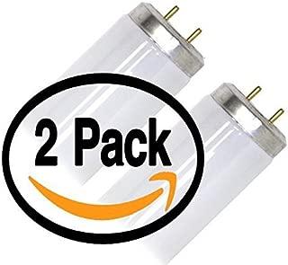 (2 Pack) Philips F20T12/CW/ALTO 20 Watt T12 Fluorescent Tube Light 20W F20T12 Bulb Cool White 4100K - 20T12/CW