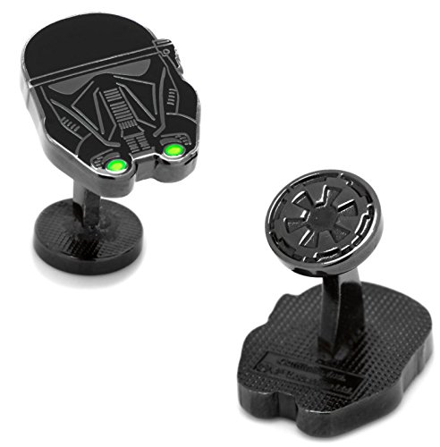 masgemelos Manschettenknöpfe Death Trooper Rouge One Star Wars Cufflinks