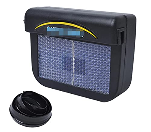 Jhong Store Solar Power Auto Window Exhaust Fan Cool Air Vent Cooling...