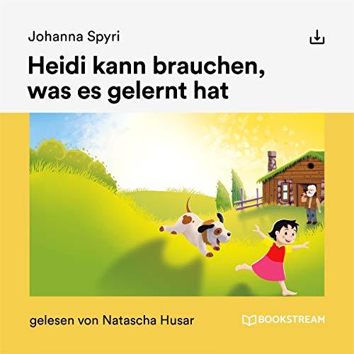 Heidi kann brauchen, was es gelernt hat audiobook cover art