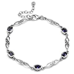 Pleochroicism of Iolite, also known as water sapphire, is easily seen in rough; appearing violet-blue and then gray from a different angle. Natural Iolite gems are cut so the blue to violet colors show from the top. Celtic knots are based in ancient ...