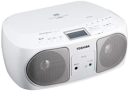 東芝 CDラジオ TY-C15 (S) シルバー