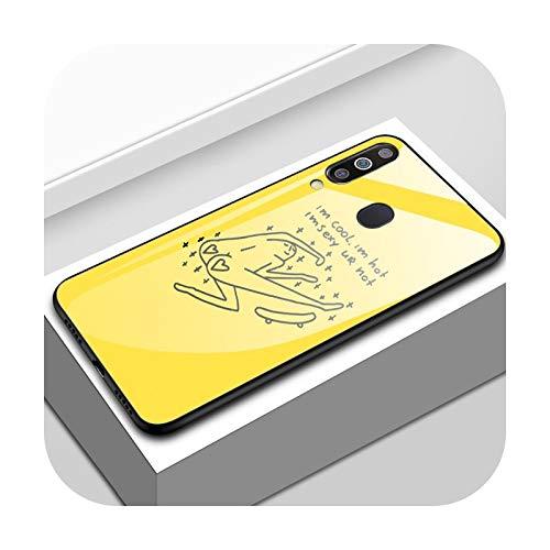 Carcasa trasera de cristal templado 9H para Galaxy S7, S8, S9, S10e, S20, FE M10, M20, M20, M30, M11, M21, M31, M31s, M51, M30s-C155, para Samsung M11 EU