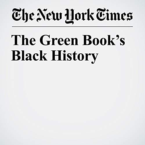 The Green Book's Black History audiobook cover art