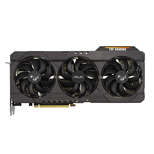 ASUS TUF GeForce RTX 3070 8GB OC Edition Gaming Grafikkarte (PCIe 4.0, GDDR6 Speicher, 2x HDMI 2.1, 3x DisplayPort 1.4a, TUF-RTX3070-O8G-GAMING)