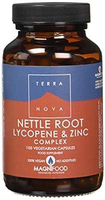 TERRANOVA Nettle Root Lycopene & Zinc Complex - 100 Vegicaps