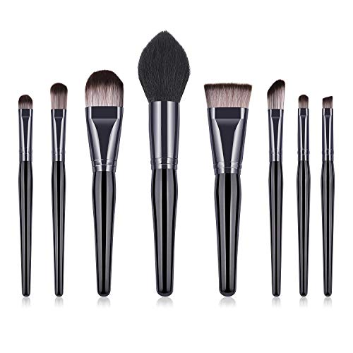 Blush brosse Flamme brosse Professionnel maquillage brosse ensemble Revelution maquillage brosses black