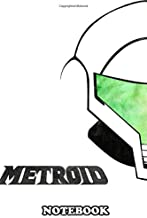 Notebook: Metroid , Journal for Writing, College Ruled Size 6