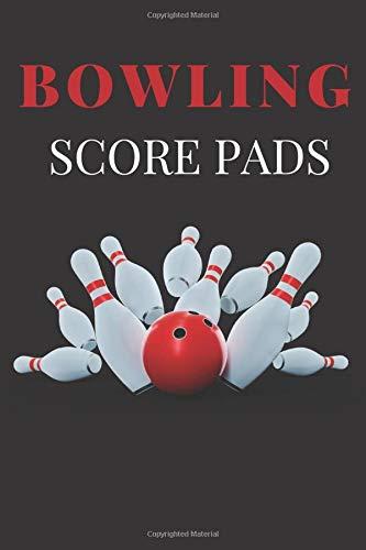 Bowling Score Pads: bowling score tracker, Scorekeeping for Bowlers Game .