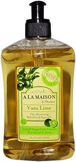A La Maison de Provence, Hand & Body Liquid Soap, Yuzu Lime, 16.9 fl oz (500 ml)
