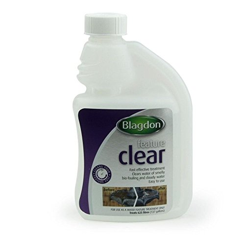 Blagdon Feature Clear Traitement pour Décorations/Eaux de Bassin 250 ML
