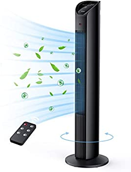 Techvilla Oscillating Fan with Remote