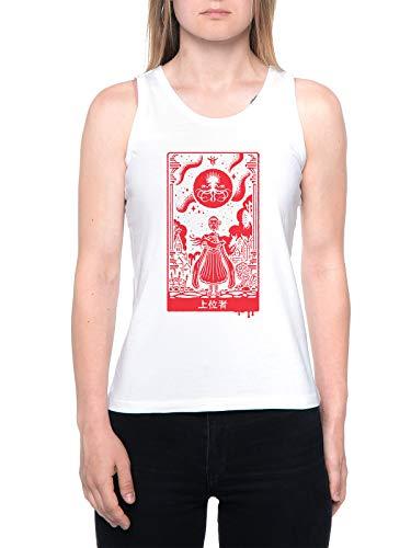 Überlegen Einsen Tank T-Shirt Damen Weiß Women's White