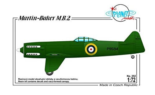 Planet Models plt252 – Modèle Kit de Martin Baker Mo 2 British Fighter protot