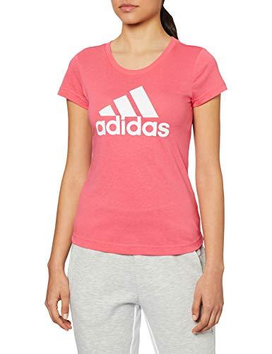 adidas Unisex-Child ED4607_128 T-Shirt, pink