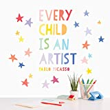 Wall Decal - Every Child is an ArtistWall Decor – Wall Decal - Inspirational Quote for Girls - Classroom Decoration - Art Room Decor. by Paper Riot Co.
