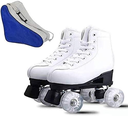 Unisex Classic Roller 限定モデル Skates PU High-top Leather Women's 品質保証