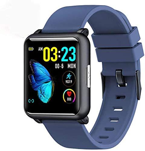JSL Rastreador de fitness de precisión reloj inteligente Bluetooth fitness actividad actividad reloj deportivo pantalla táctil podómetro monitoreo ritmo