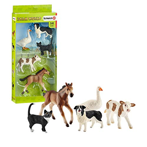 Schleich Animali Farm World, 42386 , Modelli/Colori Assortiti, 1 Pezzo