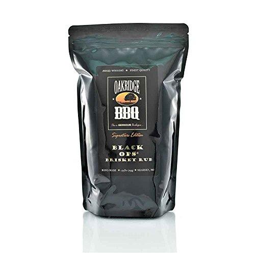 Oakridge BBQ Signature Edition Black OPS Brisket Rub - 1.75 lb