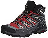 SALOMON Shoes X Ultra, Botas de Senderismo Hombre, Gris (Burnt Brick/Black/Bleached Sand), 43 1/3 EU